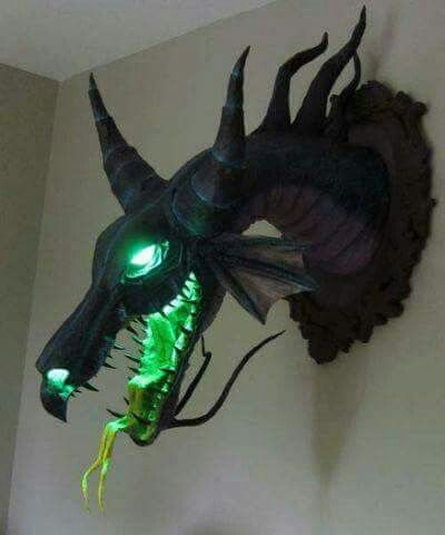 official photos 4fa9e ce16a Dragon wall sconce | home deco in 2019 | Maleficent dragon ...