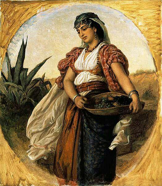 Peinture d 39 alg rie peintre britannique john evan for Peinture satinee algerie