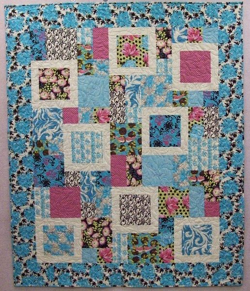 perfect quilts | ... Prairie Women's Sewing Circle Journey 3 William Morris Feng Shui quilt