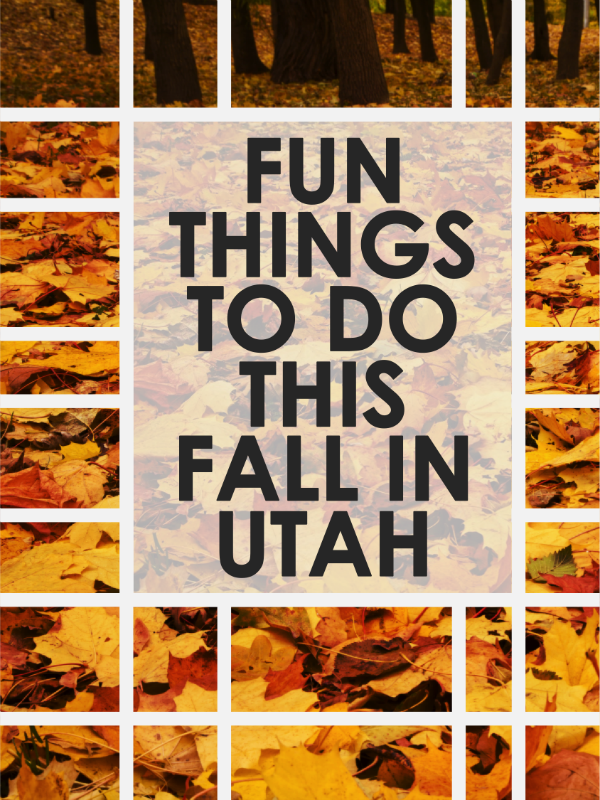 Fun Things To Do In Utah This Fall | Fall Family Activities