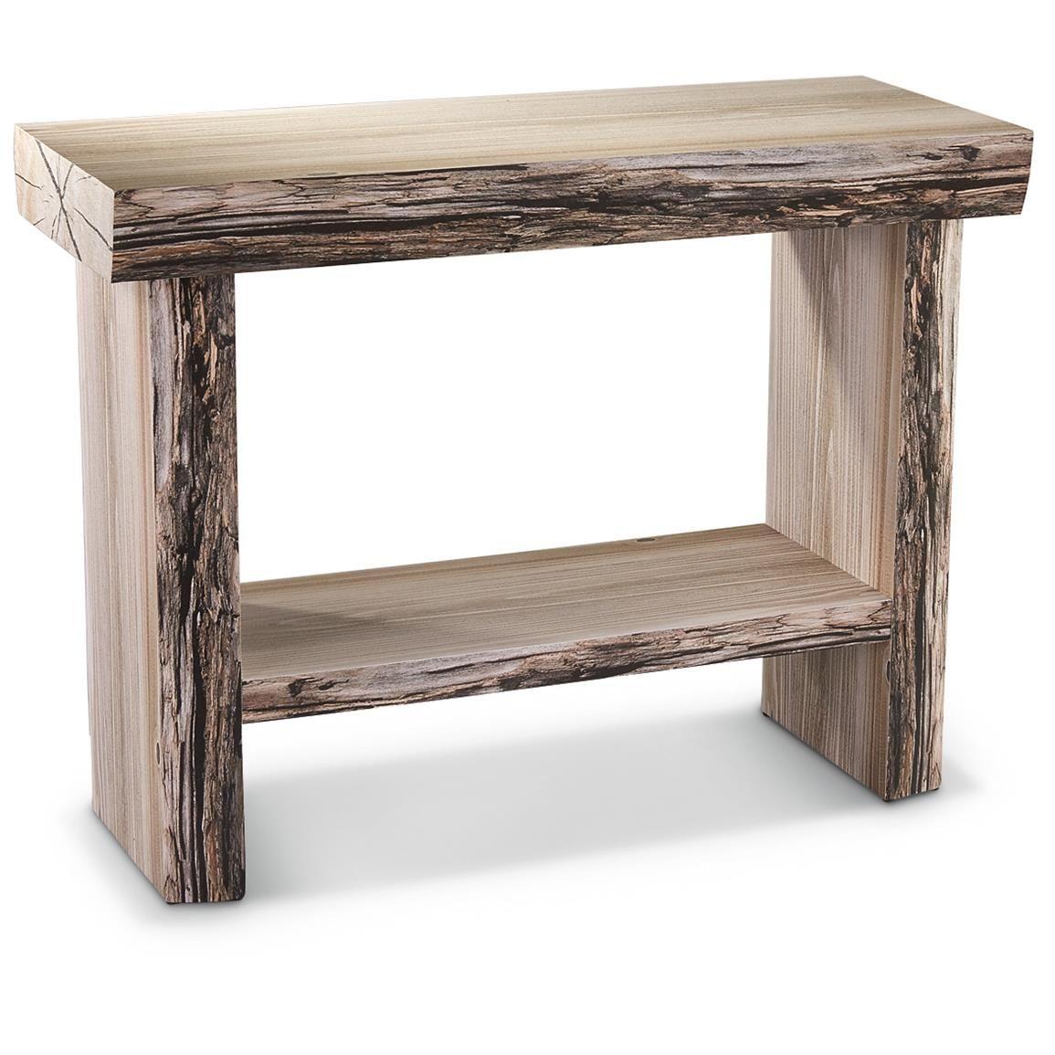 Tree Trunk Table | CASTLECREEK Tree Trunk Console Table - 664331 ...