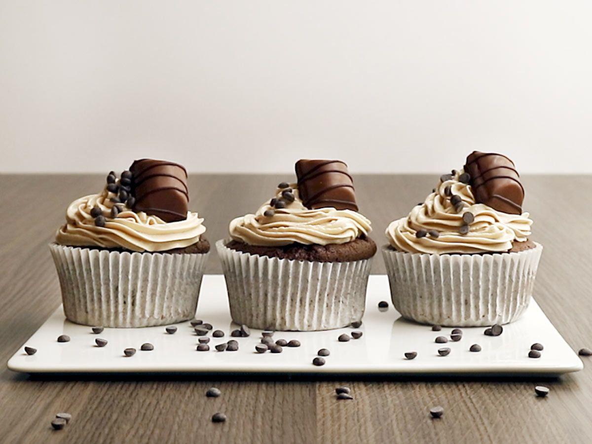 Kinder-Bueno-Cupcakes - so geht's #cupcakesrezepte