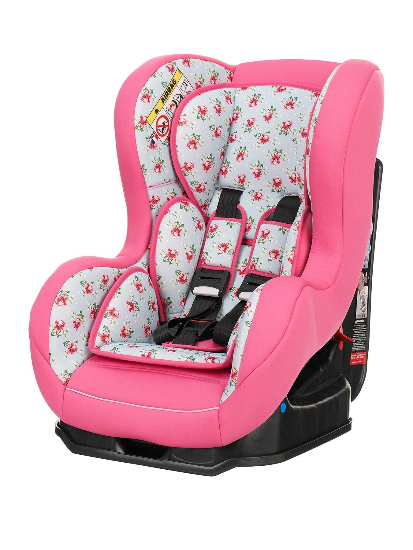 Obaby Cottage Rose Group 0-1 Car Seat Keep your little one safe and  comfortable on the move with this stylish Group 0-1 combination car seat. 414fa5de2