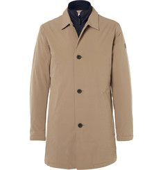 NN07 - Blake Slim-Fit Layered Waterproof Shell Car Coat | TEMPIO ...