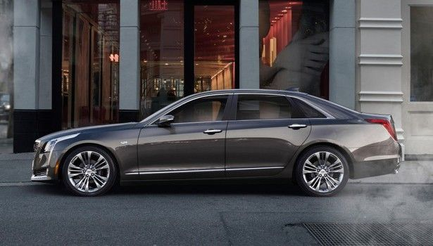 2016 Lincoln Town Car Exterior Design