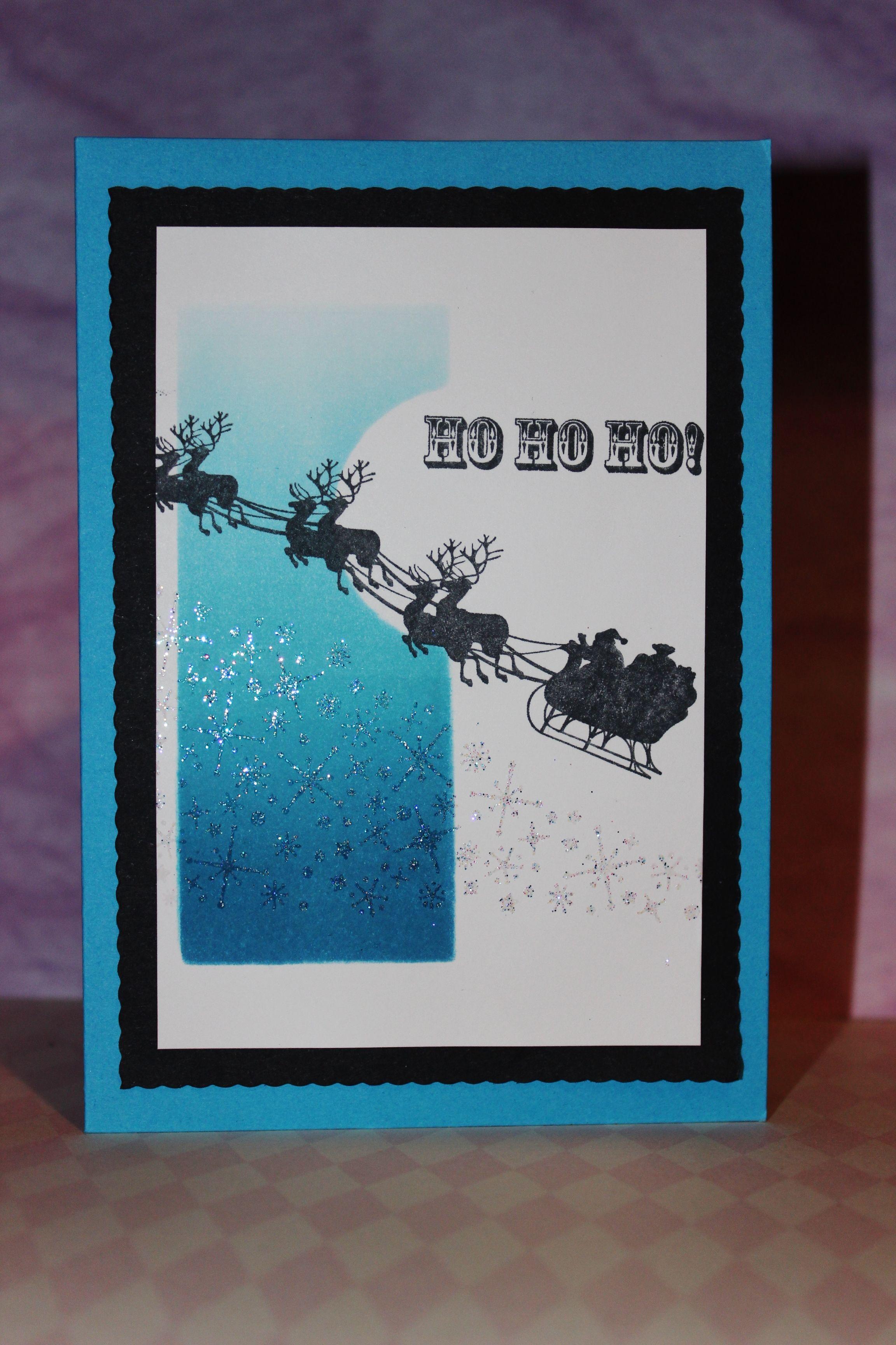 Kaszazz Card Making Ideas Part - 28: Kaszazz Christmas Stamps With A Brayered Background · BarnWorkshop IdeasXmas  CardsCardmakingCard ...