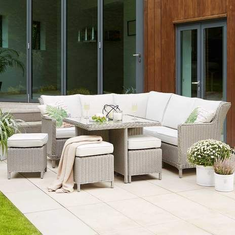 keston casual dining garden furniture cube set wyevale garden centres - Garden Furniture Kettler