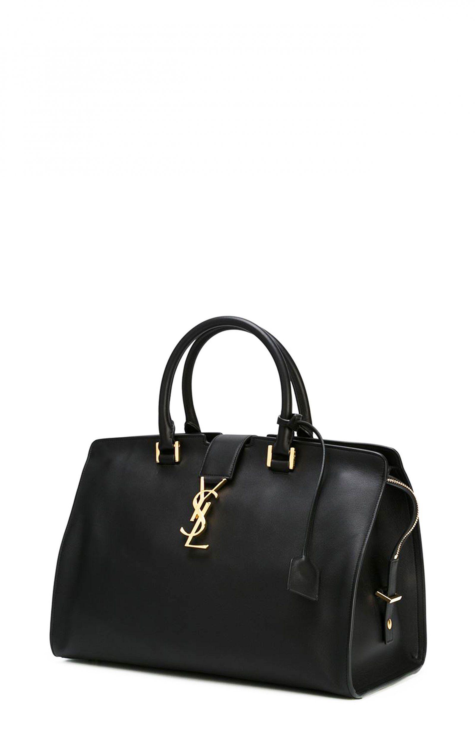 b16fe7f143dd Black Cabas Bag Large - Saint Laurent - Saint Laurent - ANITA HASS ...