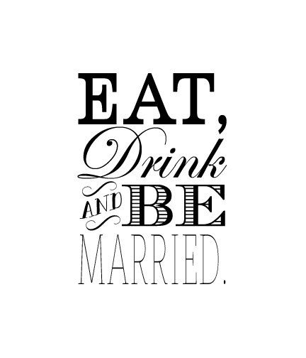 1000 Images About Eat Drink And Be Married On Pinterest: Eat Drink And Be Married Rubber Stamp Wedding Rubber By