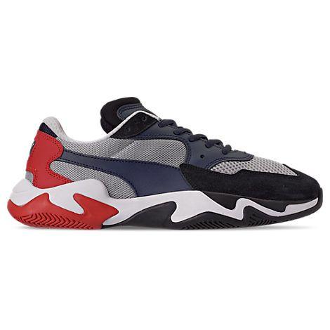 puma men's storm origin casual shoes grey puma shoes