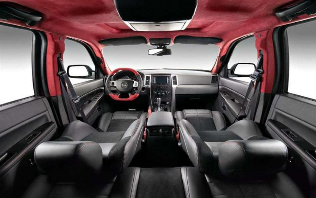 2016 Jeep Grand Cherokee SRT8 Hellcat Interior Design