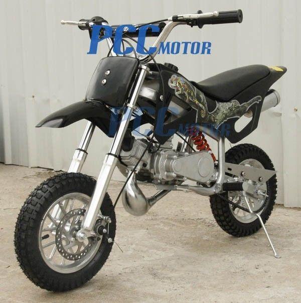49cc 2 Stroke Gas Motor Scooter Mini Pocket Dirt Bike Free S H H