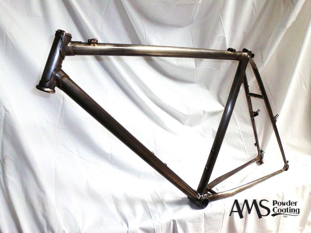 Clear Coated Steel Mountain Bike Frame Steel Bike Mountain Bike Frames Steel