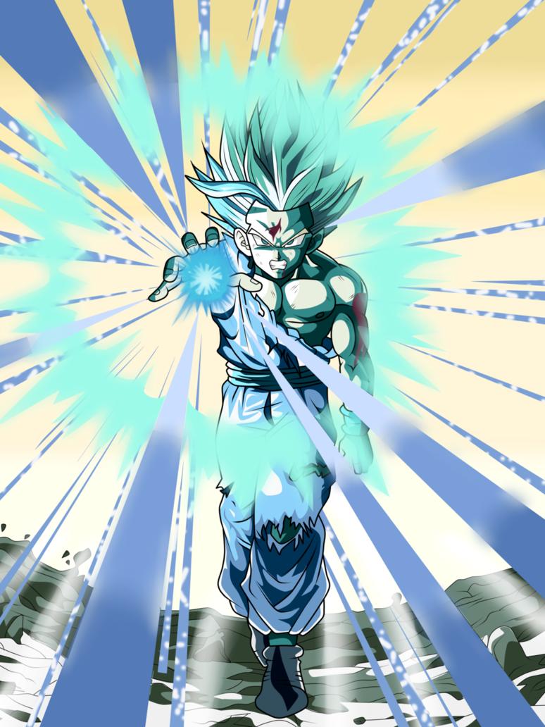 Gohan Super Saiyan 2 Kamehameha By ChronoFz