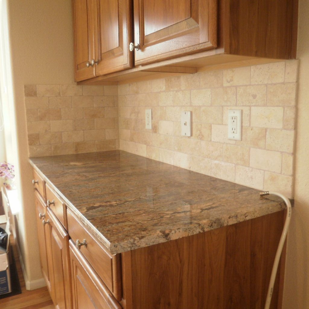 Travertine Kitchen Countertops Colors Backsplashes Colonial