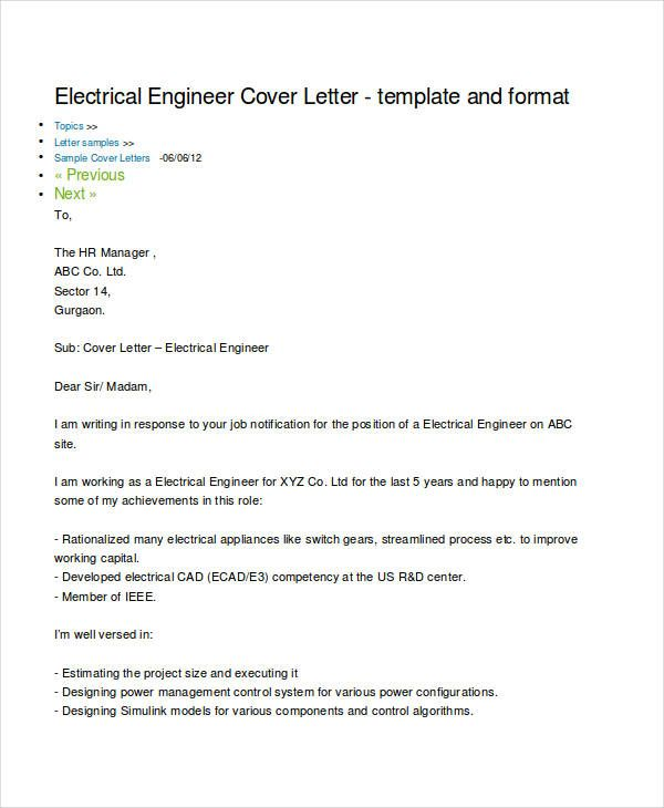 free engineering resume templates word pdf documents cover letter for electrical engineer