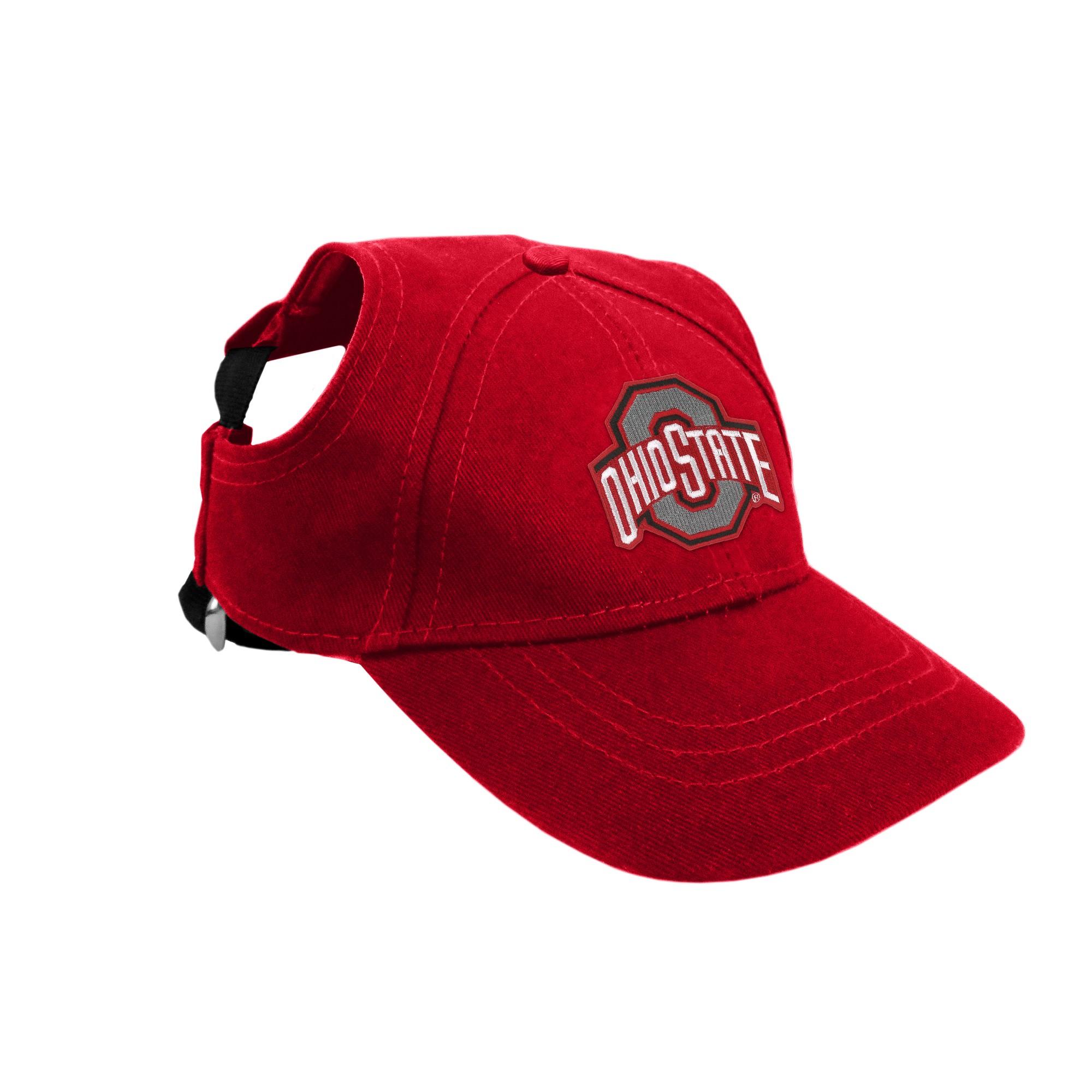 Ohio State Buckeyes Little Earth Pet Baseball Hat Xl In