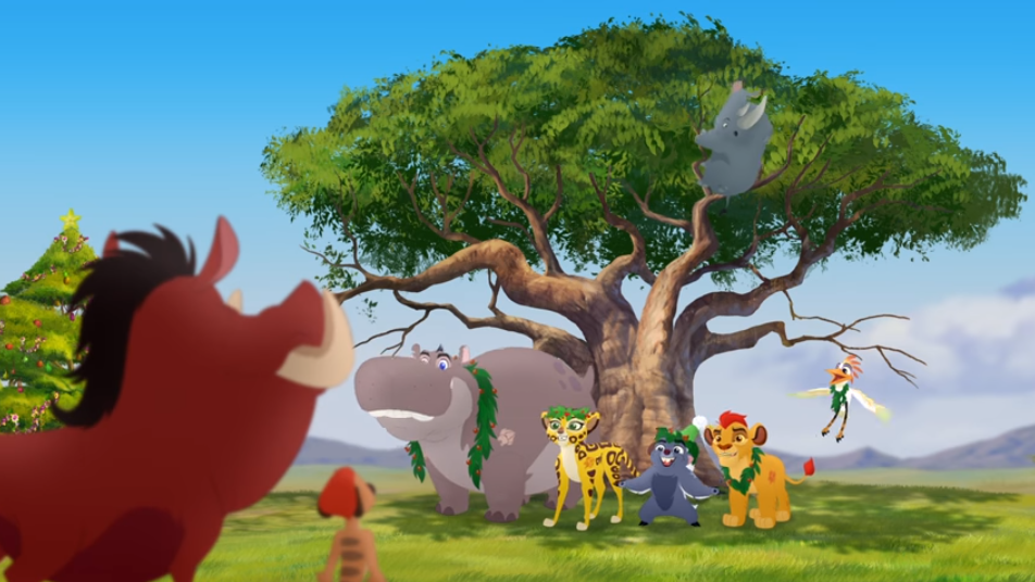 The Twelve Ways Of Christmas General Information Television Programs The Lion Guard Original Performer Kion Lion King Tree Lion Guard The Lion Sleeps Tonight