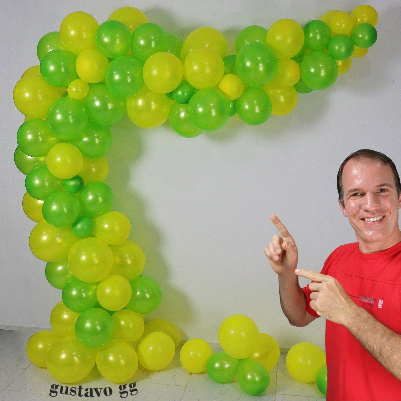 Arco De Globos Como Hacer Un Arco O Guirnalda De Globos How To Make Balloon Balloon Decorations Balloons