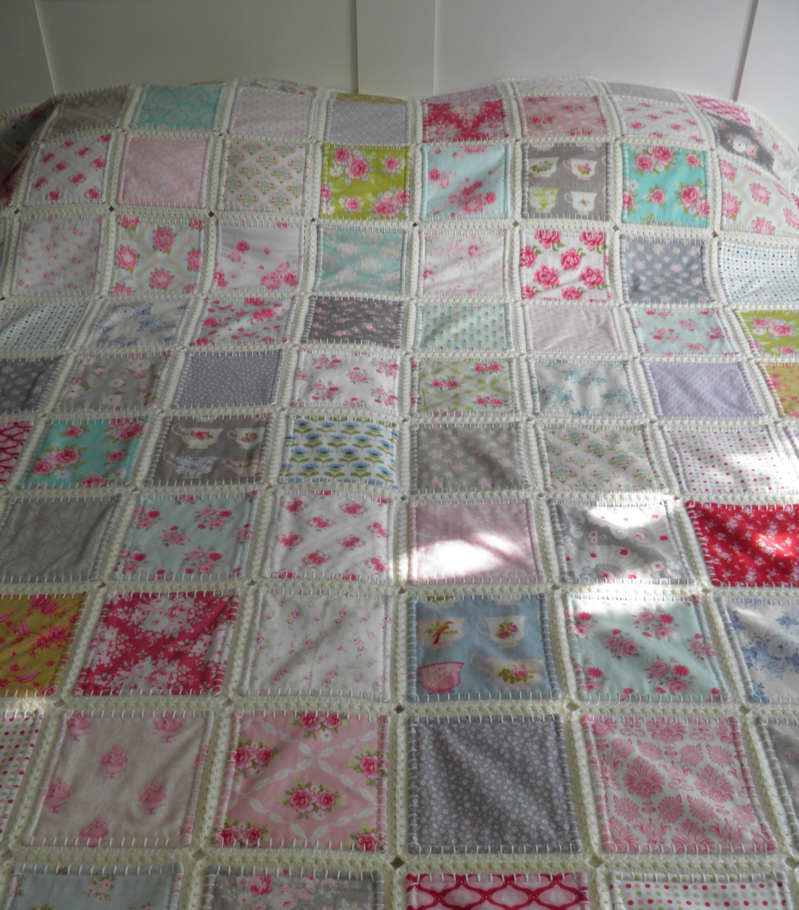 A Quilt But Slightly Different She Measures App 92 Inches In Square