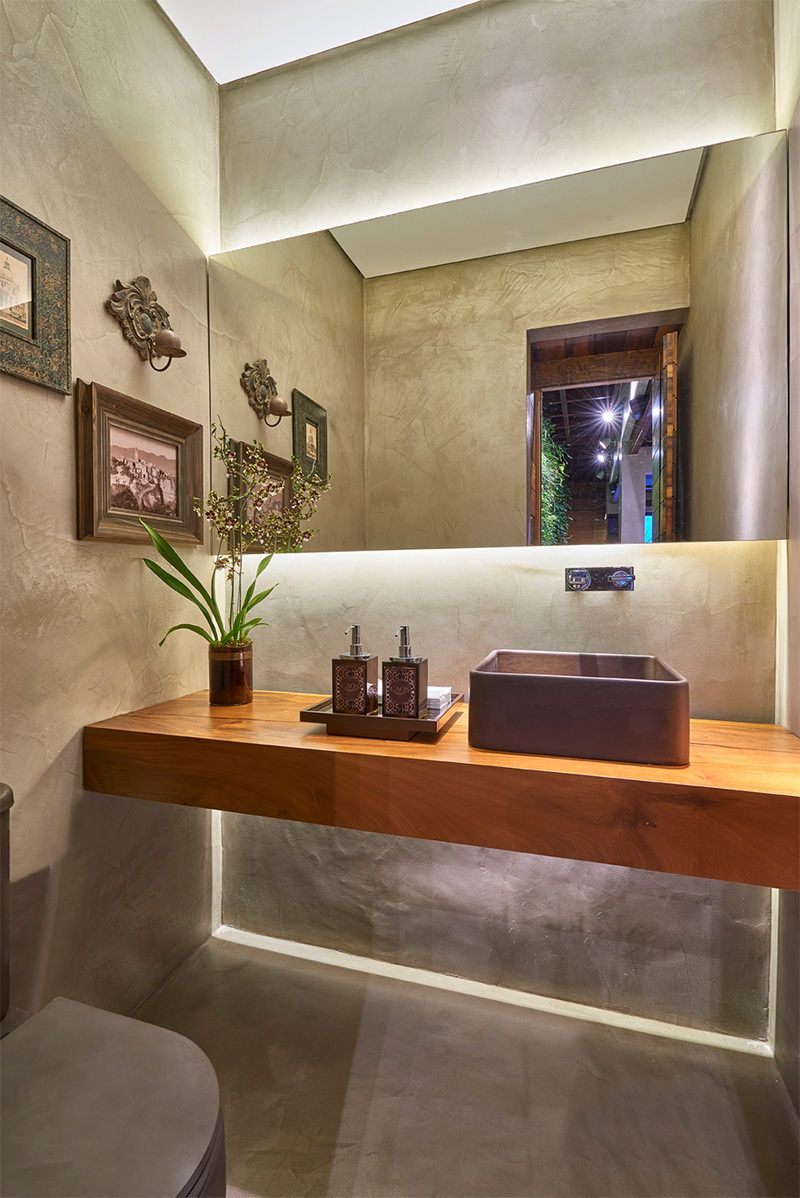 15 lavabos com decora o moderna e contempor nea para voc - Lavabos de pared ...