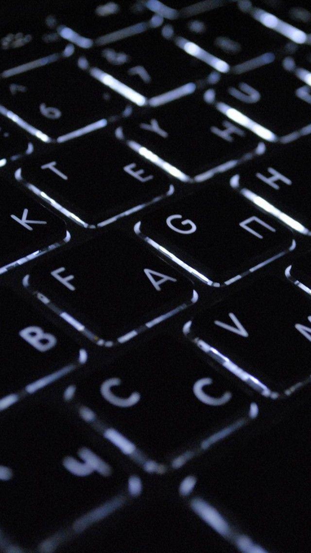 Macbook Keyboard Nerdy Ponsel Seni Abstrak Abstrak
