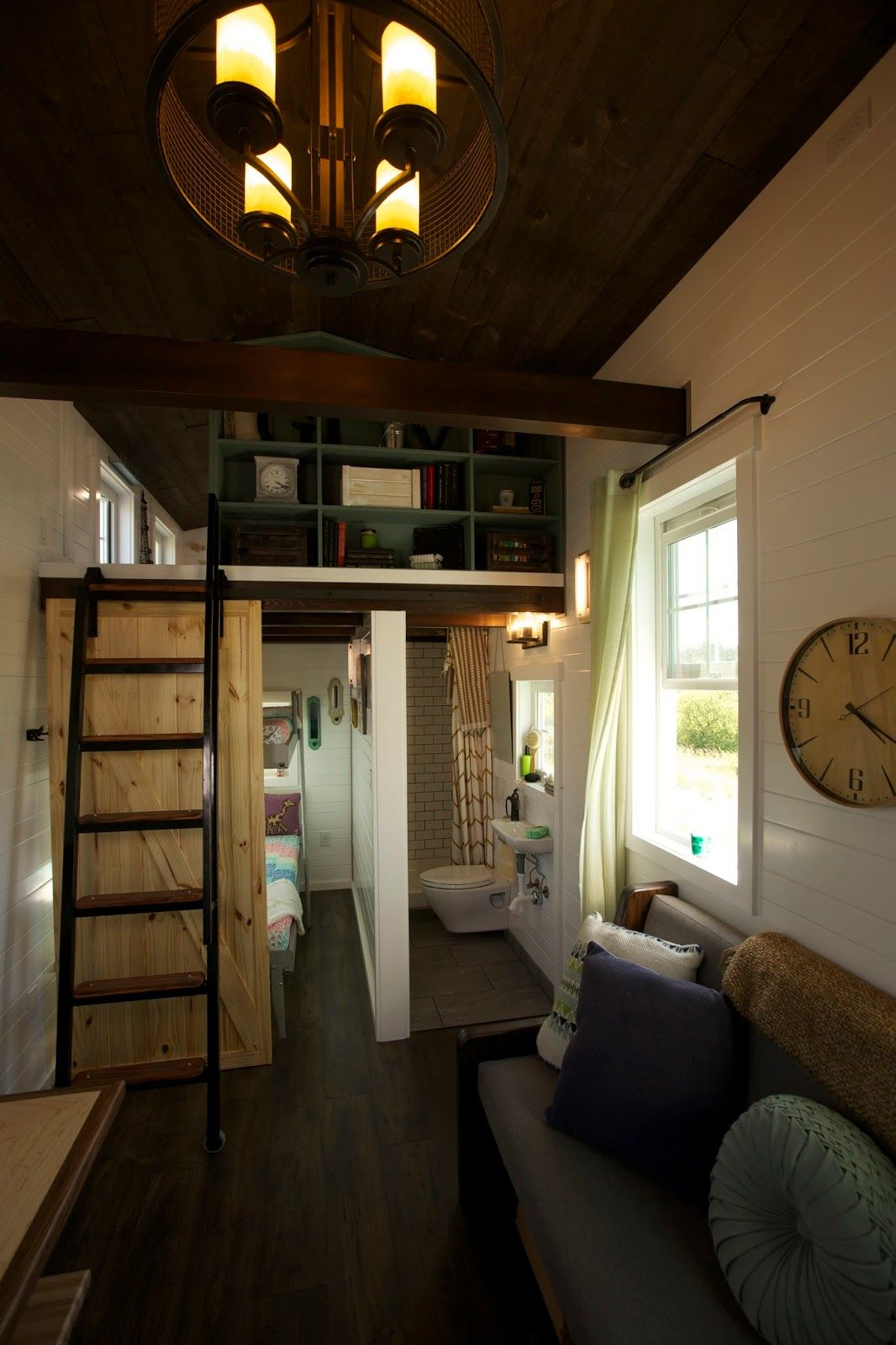 A Beautiful 325 Sq Ft Tiny House With Three Bedrooms