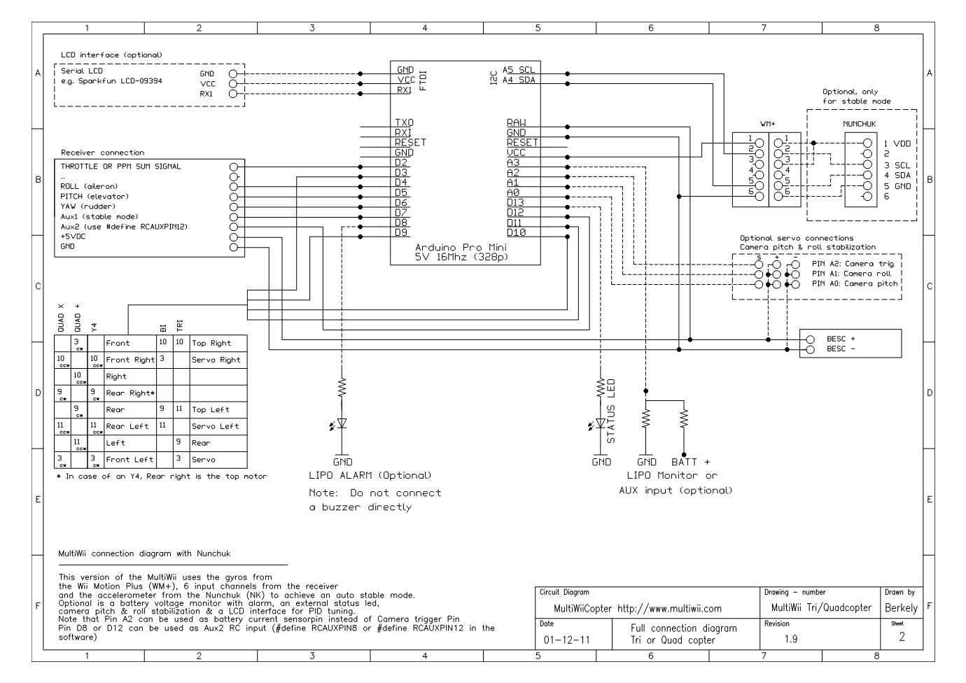 multiwii wiring diagram product wiring diagrams u2022 rh genesisventures us