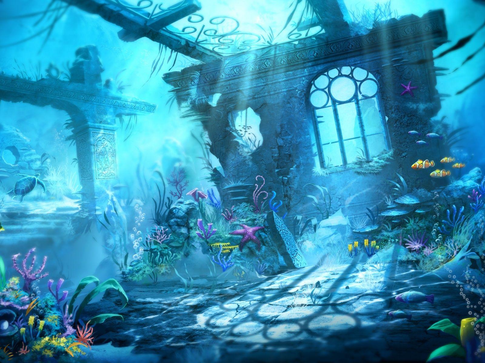 fantasy graphics Google Search Underwater wallpaper