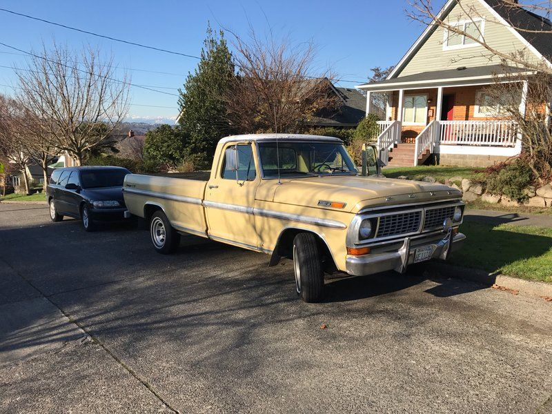 1970 Ford f-100 Ranger XLT for sale by Owner - Seattle, WA ...