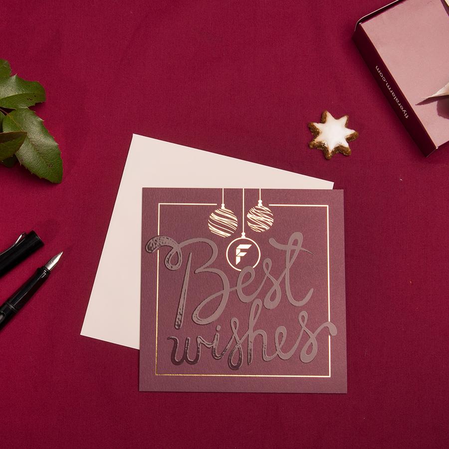 Weihnachtskarten Flyeralarm.Mit Veredelungen Aus Goldfolie Werden Deine Grußkarten Und