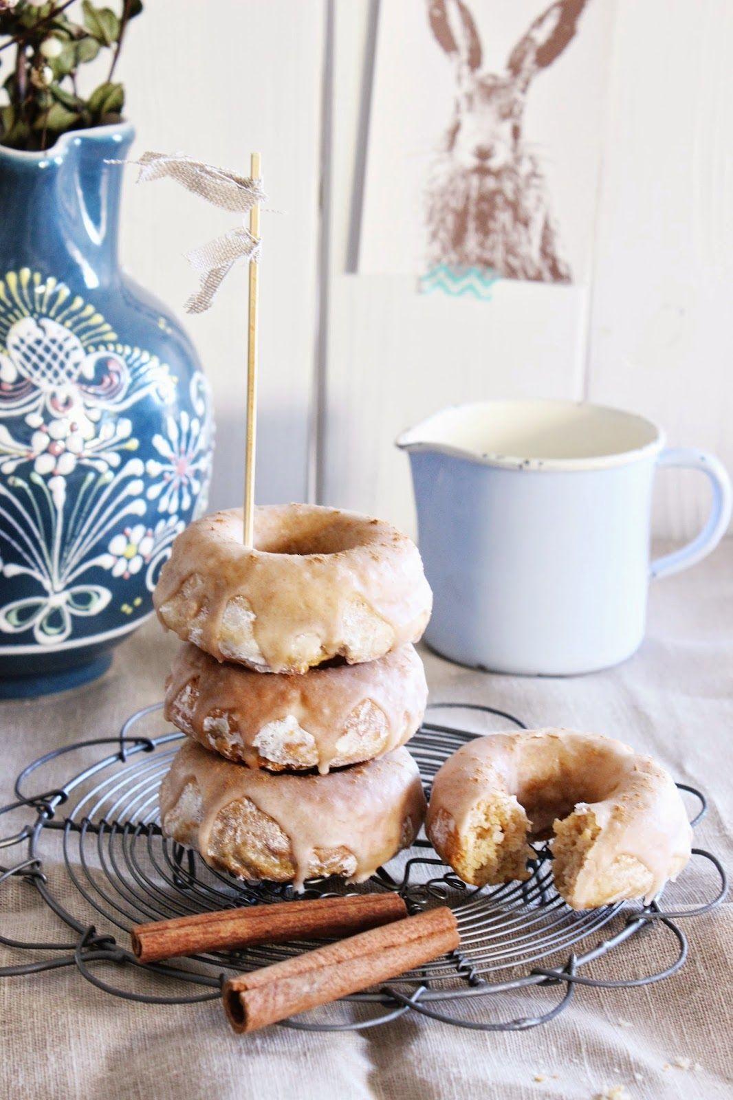 Marzipan Zimt Donuts