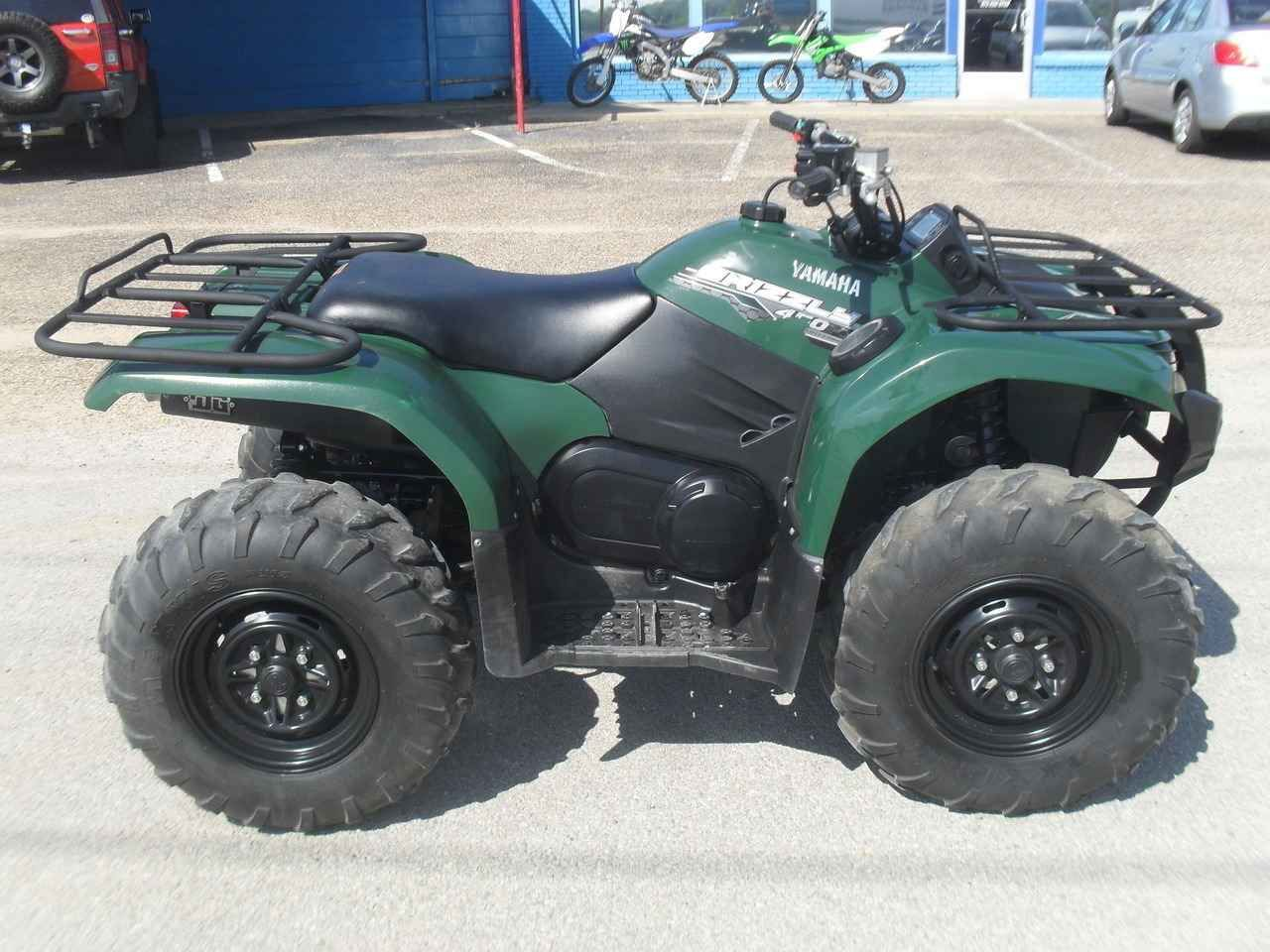 Used 2014 yamaha grizzly 450 auto 4x4 eps atvs for sale in texas 2014 yamaha