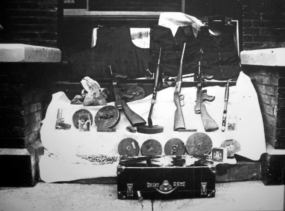 The 2 Thompson Submachine Guns Used In The St Valentines Day