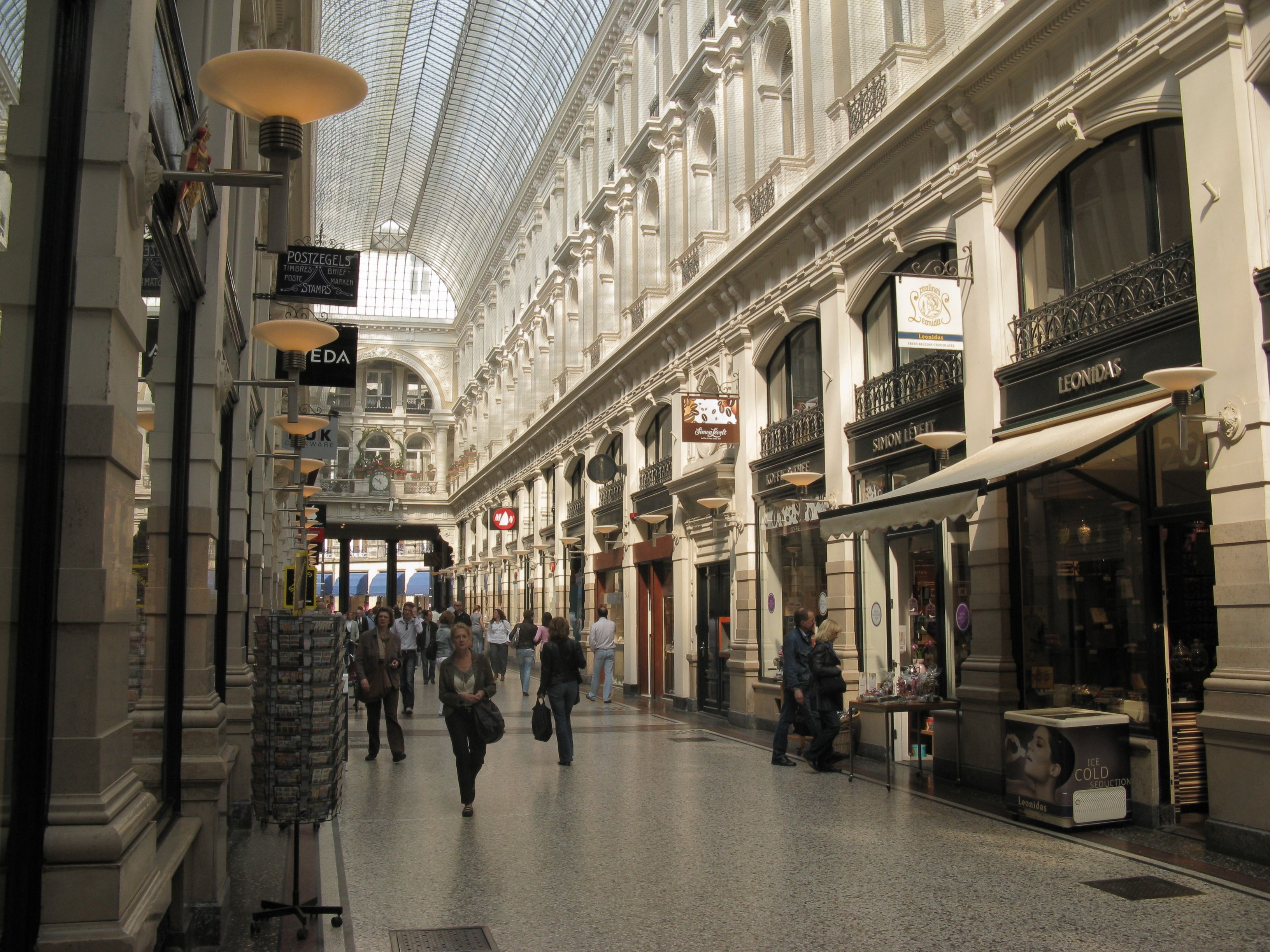 den haag the netherlands the passage shopping area awesome it is so nice to stroll here. Black Bedroom Furniture Sets. Home Design Ideas