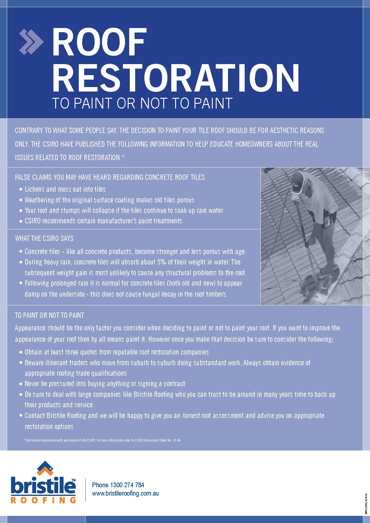 Roof Restoration Equipment Roof Restoration Restoration Some People Say