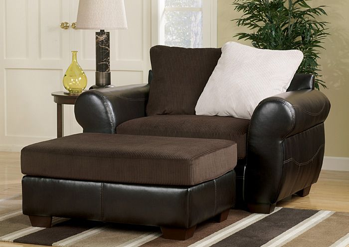 Furniture Outlet   Bend, OR Voltage Chocolate Chair And 1/2