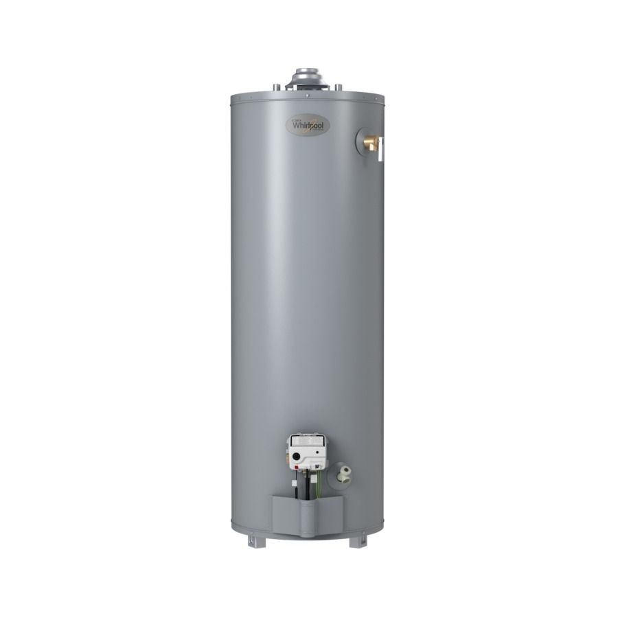 Whirlpool 50 Gallon 6 Year Residential Tall Natural Gas Water Heater Gas Water Heater Natural Gas Water Heater Water Heater