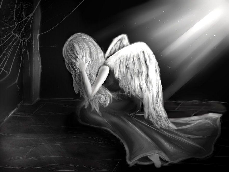 были гиф картинка грустного ангела сервис