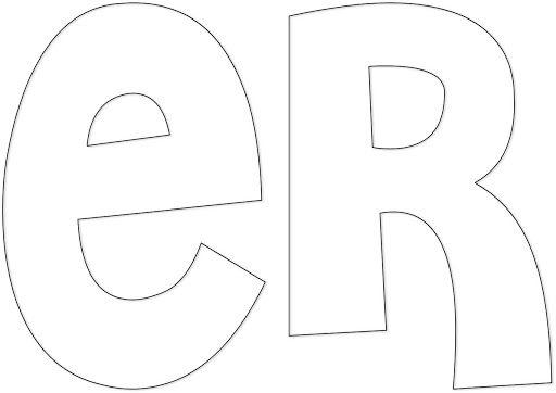 MOLDES DE LETRAS PARA IMPRIMIR | Logotipos