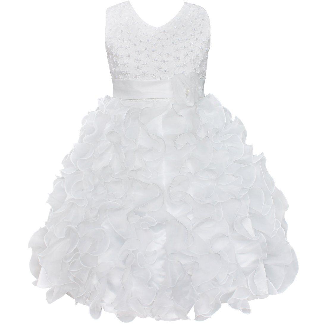 Robe princesse fille mariage amazon