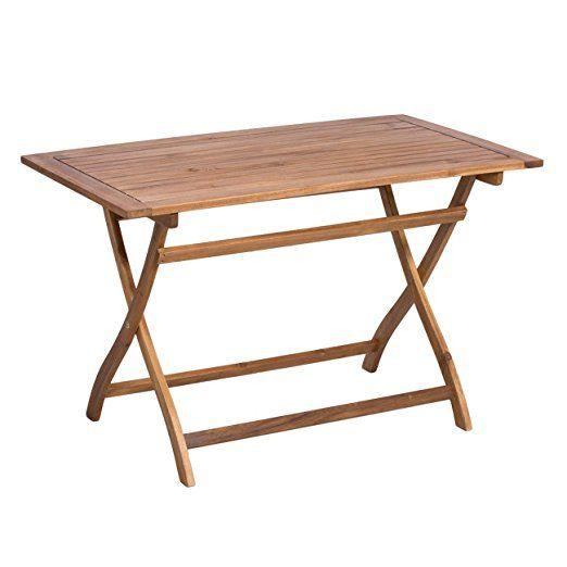 Gartentisch Outliv Toulouse Klapptisch 120x70 Cm Akazie Fsc Tisch