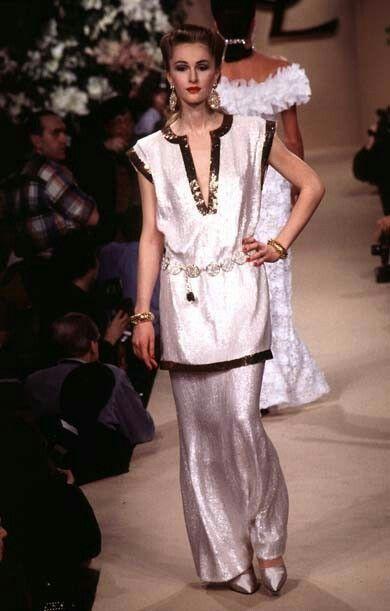 41ec729d999 Yves Saint Laurent - Haute Couture - Runway Collection - WomenSpring / Summer  1996