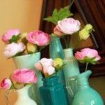Paint Swirl Vases