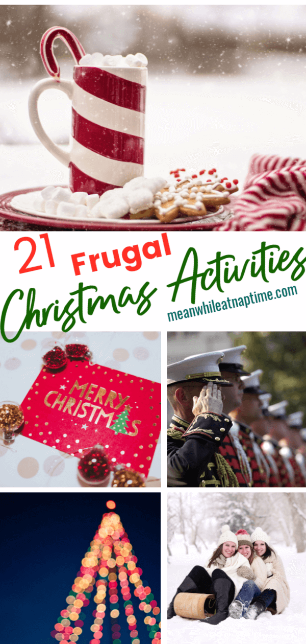 21 Frugal Christmas Activities: save money -   18 holiday Activities list ideas
