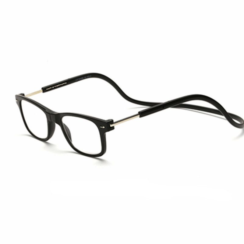 55ac83621a Magnetic Reading Glasses Men Women Hanging Neck Folding Glasses Magnetic  Eyeglass Frames magnet Gafas De Lectura Oculos 055