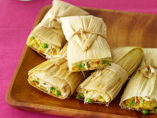 Get Chicken Tamales Recipe from Food Network