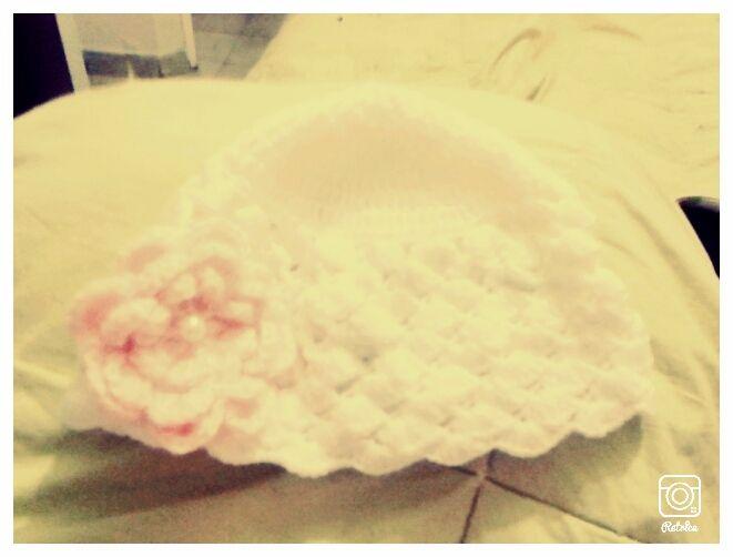 gorro bebé crochet