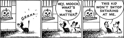 Halloween Mutts Comics Mutt Comics