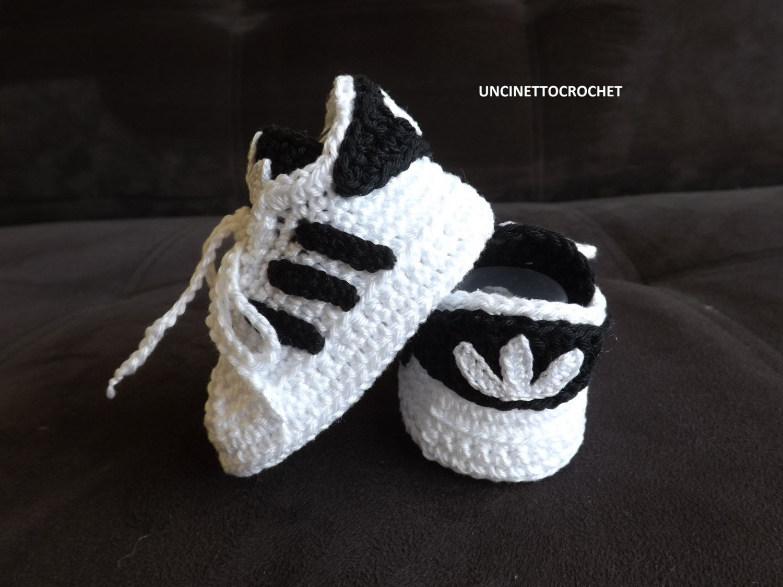 Baby Newborn Punto Adidas Crochet Pattern Bebé Superstar SqxqwnPECT